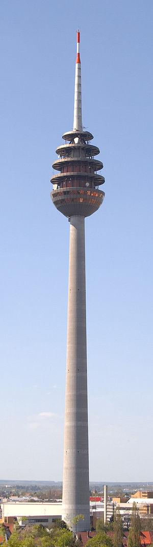 Fernmeldeturm Nürnberg - The Fernmeldeturm Nürnberg