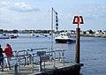Ferry arriving, Mudeford Spit - geograph.org.uk - 1444921.jpg