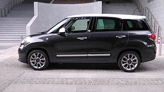 "Fiat 500L - Longer 7 seats ""Living"" version"