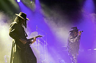 Gothic rock - Fields of the Nephilim at the Agra Hall, Leipzig, Germany 2008