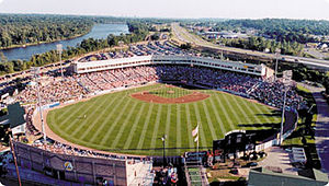 "Comstock Park, Michigan - 5/3 Ballpark hosts the West Michigan Whitecaps in addition to seasonal concerts, festivals, and the famous ""Night Lights"" holiday light display."