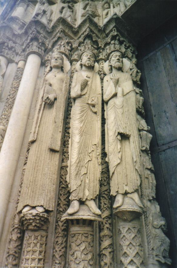 Figures from Cathedral of Chartres