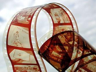 Film stock - A film strip