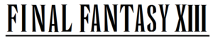Immagine Final Fantasy XIII wordmark.png.