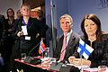 Finlands statsminister Mari Kiviniemi och Norges statsminister Jens Stoltenberg pa Nordiska radets session 2010.jpg