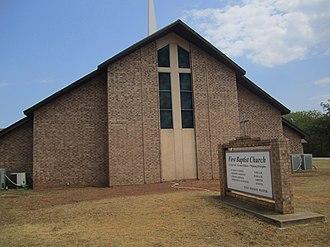 Winona, Texas - First Baptist Church of Winona