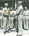 Flag Presentation for Sands of Iwo Jima, 14 July 1949.jpg
