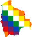 Flag map of Bolivia (Qulla Suyu banner).png