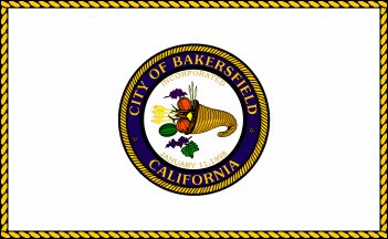 Flag of Bakersfield, California