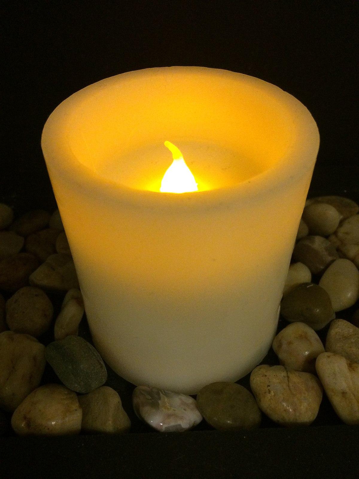 Flameless candle - Wikipedia