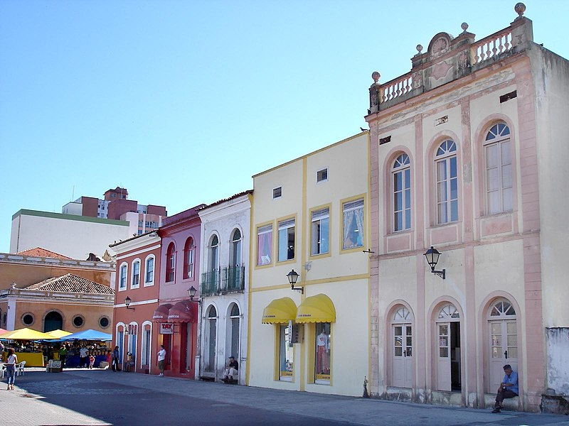 Centro histórico de Floripa