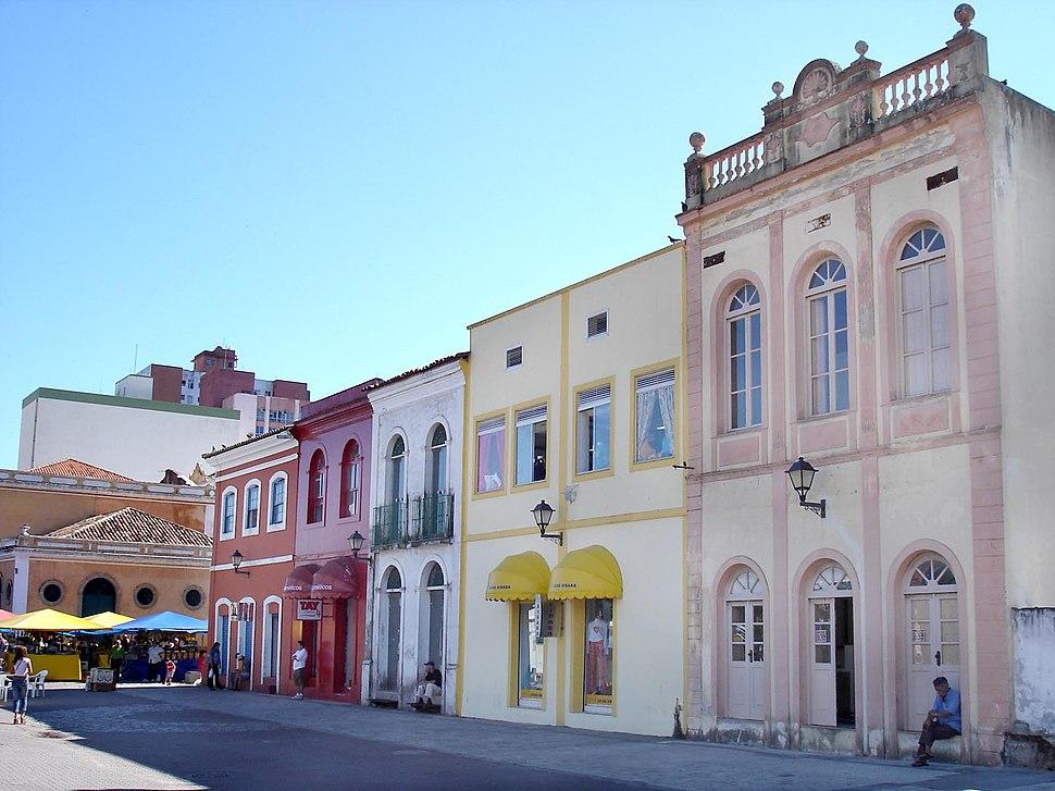 Florianopolis historic center
