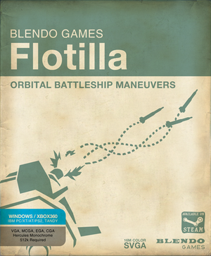 Flotilla (video game) - Flotilla cover art