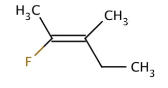 Stereoisomerism - Fluoromethylpentene