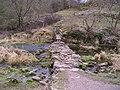 Footbridge in Lathkill Dale - geograph.org.uk - 1759246.jpg