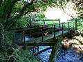 Footbridge on the River Kenson Penmark - geograph.org.uk - 987368.jpg