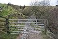 Footpath across upper Clay Wood Brook - geograph.org.uk - 1593625.jpg