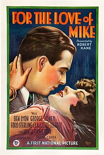<i>For the Love of Mike</i> 1927 film by Frank Capra