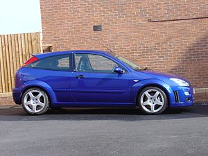 A photo of a Ford Focus RS