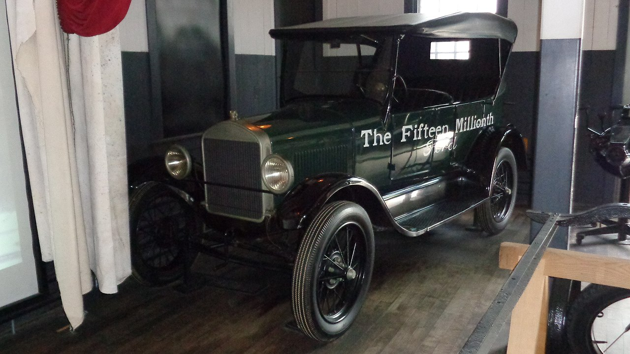 File Ford Model T Serial No 15 000 000 Built May 1927