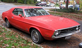 Ford Mustang (first generation) - 1972 Ford Mustang hardtop