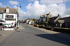 Fore Street in Tintagel - geograph.org.uk - 1518395.jpg