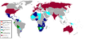 Foreign diplomatic relations of the SADR 2010.png