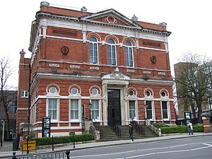 Metropolitan Borough of Hampstead - Image: Former Hampstead town hall, Haverstock Hill geograph.org.uk 415063