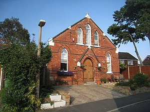 Great Coates - Image: Former Methodist Chapel, Great Coates (geograph 2525967)