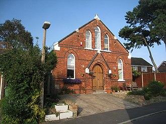 Great Coates - Image: Former Methodist Chapel, Great Coates (geograph 2525967)