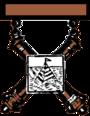 Antigua insignia de calificación de artillería del ejército de EE. UU.