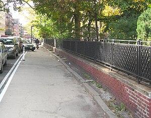 Forsyth Street - 2008 rearrangement, seen from Delancey Street