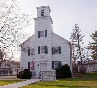 Fort Miller Reformed Church Complex - Fort Miller Reformed Church, November 2010