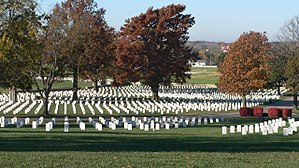 Fort Scott National Cemetery - Image: Fort Scott National Cemetery, SW from lodge 1