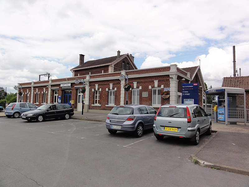 Fourmies (Nord, Fr) la gare