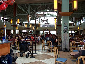"Fox River Mall - The ""Northwoods Cafe"" food court"