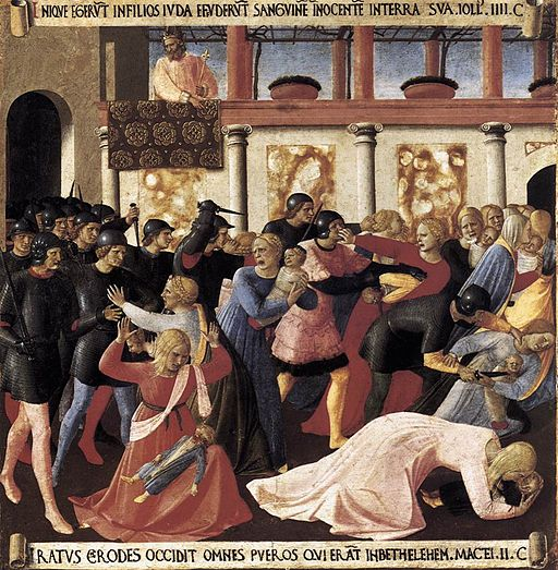Fra Angelico - Massacre of the Innocents - WGA00610