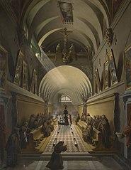 Interior of a CapuchinConvent