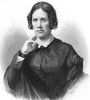 Frances Dana Barker Gage - Engraving of Frances Gage