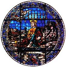 773483dda9 La vetrata su disegno di Francesco del Cossa
