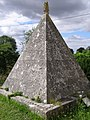 Francis Douce's pyramidal mausoleum, Nether Wallop - geograph.org.uk - 213585.jpg