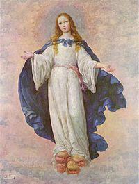 La Inmaculada Concepción, 1661 (138 x 102), Magyar Szépmüvészeti Múzeum Budapest