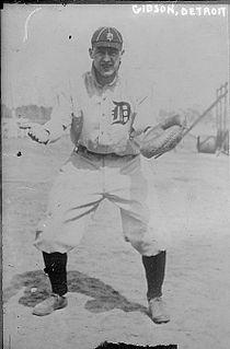 Frank Gibson (baseball) American baseball player