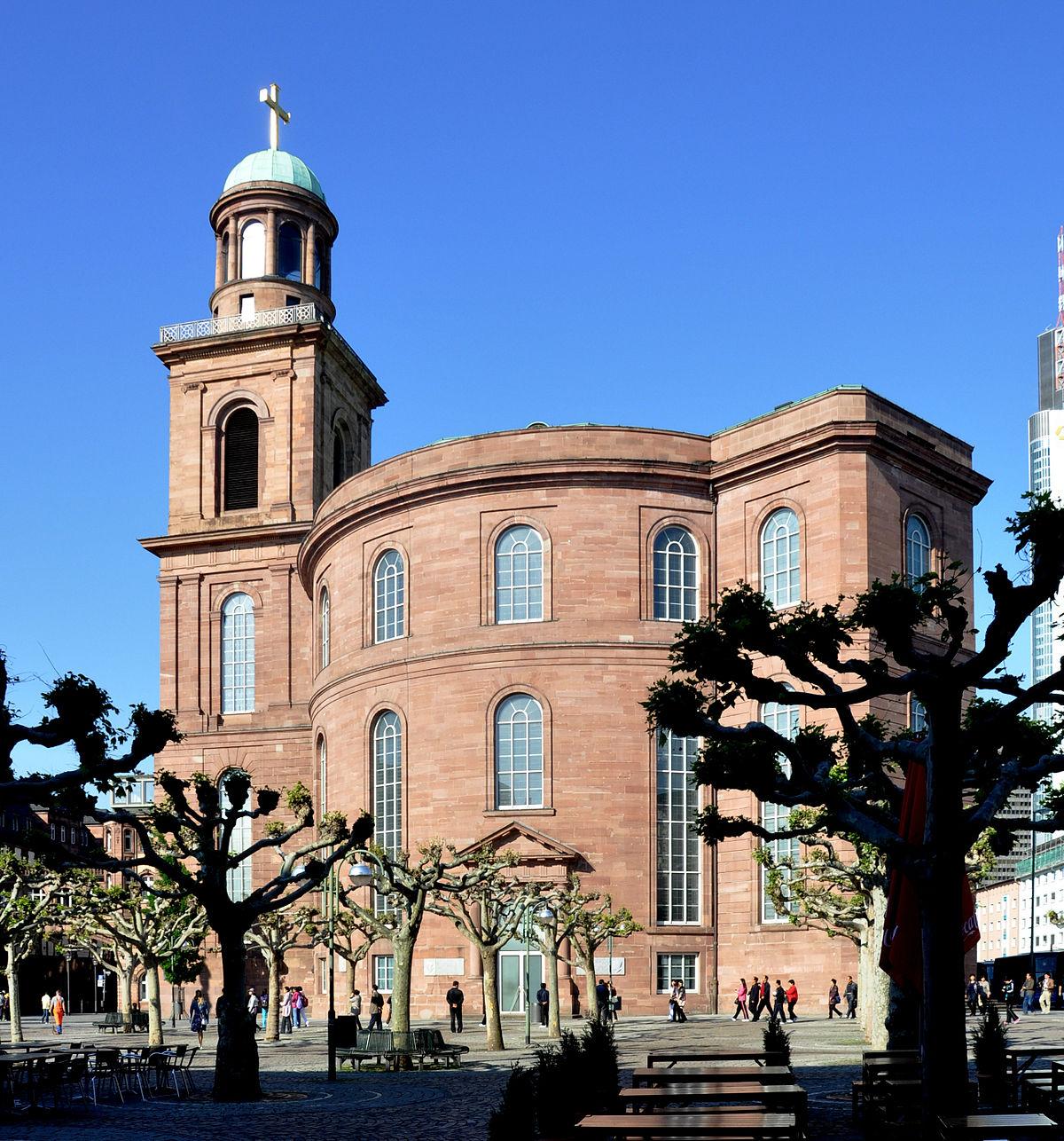 St. Paul's Church, Frankfurt am Main - Wikipedia