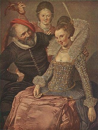 Shrovetide Revellers - Image: Frans Hals Merry Trio