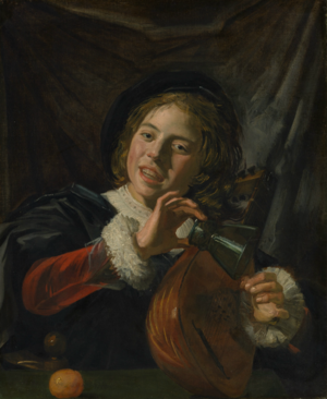 The Fingernail Test - The Fingernail Test, c.1626. Oil on canvas, 72.1 x 59.1 cm