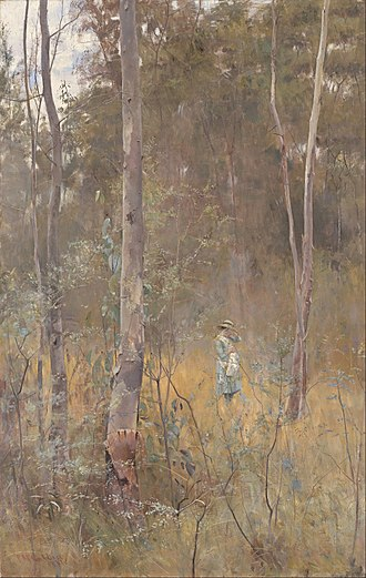 Picnic at Hanging Rock (film) - Image: Frederick Mc Cubbin Lost Google Art Project