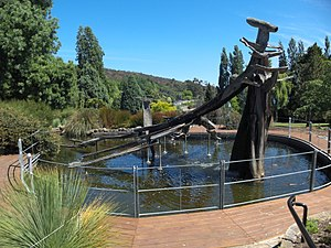 Marc-Joseph Marion du Fresne - Memorial fountain in Hobart for the bicentenary of the 1772 sighting of Tasmania.