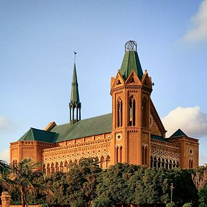 Karachi - Some of Karachi's most recognized structures, such as Frere Hall, date from the British Raj.