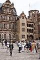 Friedrichsbau and Gläserner Saalbau - Heidelberg Castle - Heidelberg - Germany 2017.jpg